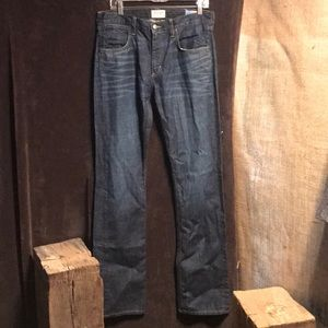 Wrangler USA made straight leg jeans size 32x36
